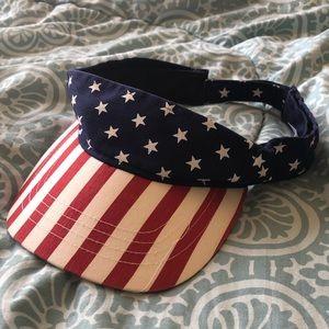 USA Flag Visor